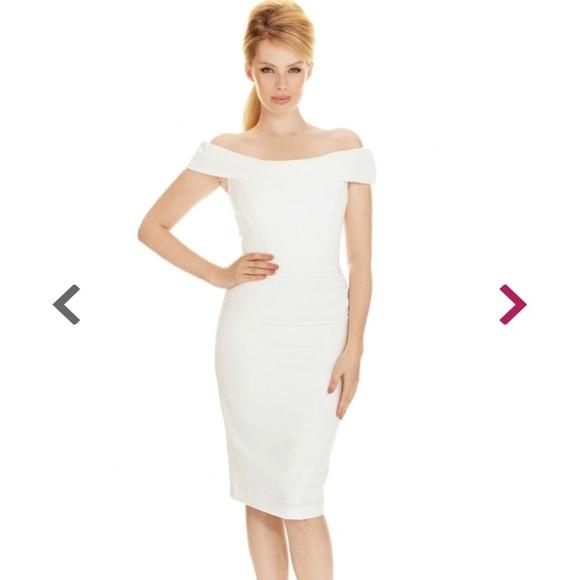 dc0d4cbff9 Thea pencil dress in cream NWT. NWT. the pretty dress company